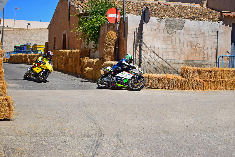 Motorcycle Road Racing royalty free stock photos