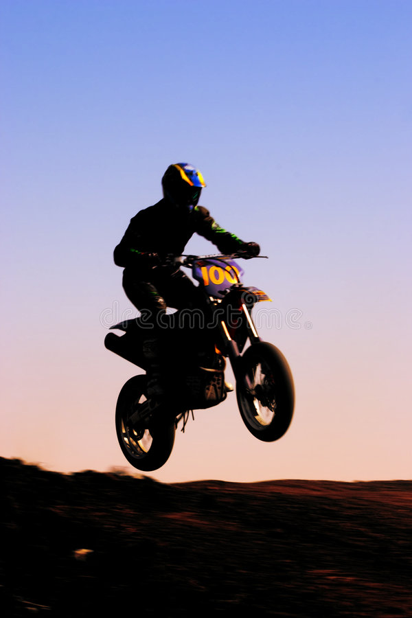 Download Motorcycle Silhouette Front Stock Photo - Image: 238130