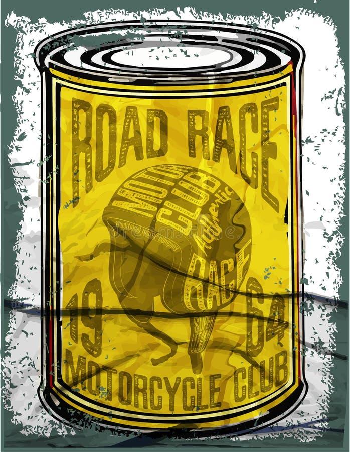 Motorcycle typography; vintage motor; t-shirt graphics; vectors vector illustration