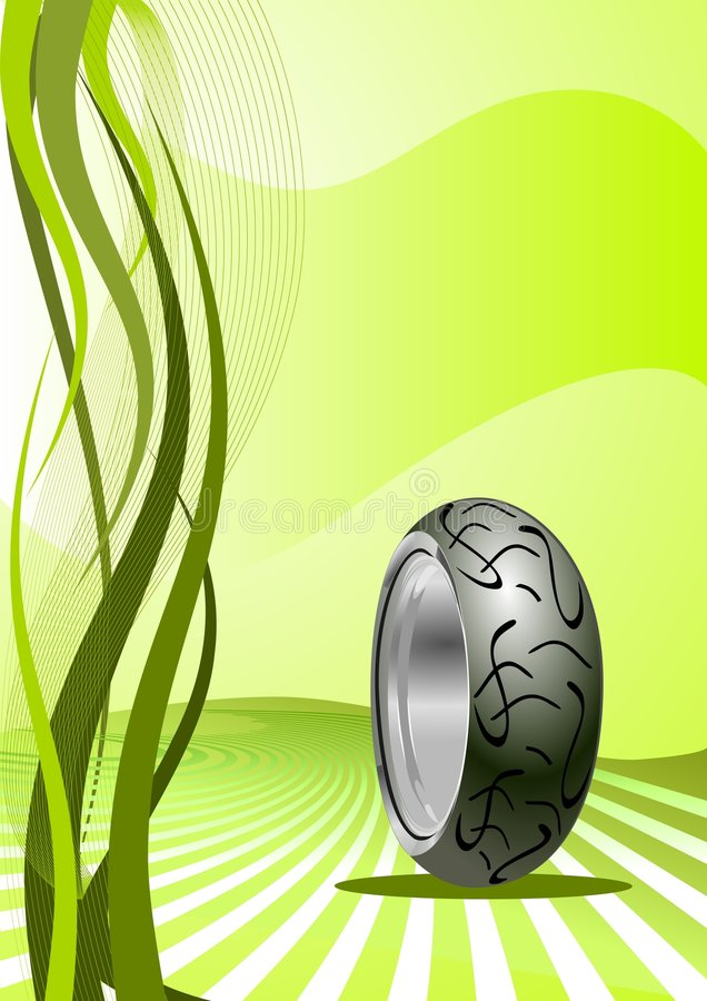 Download Motorcycle Tyre stock vector. Image of racing, rubber - 9194335