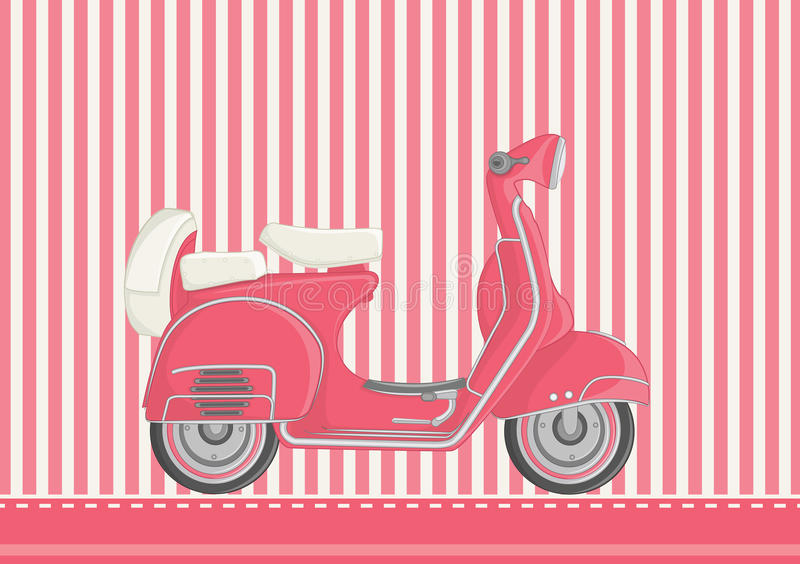 Download Motorcycle Vector Illustration Royalty Free Stock Photography - Image: 25428737