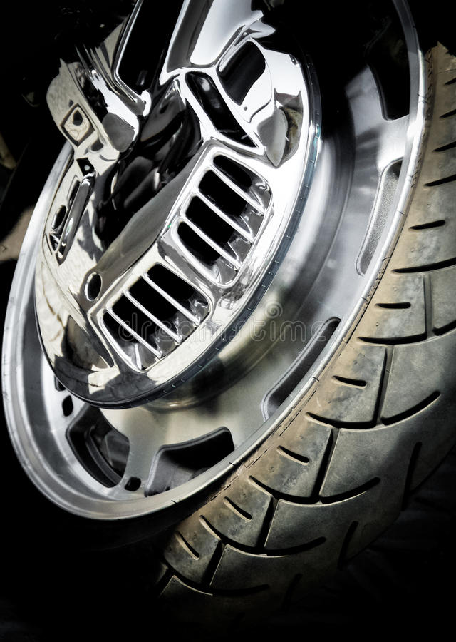Download Motorcycle wheel stock image. Image of brake, motorcycle - 22798787