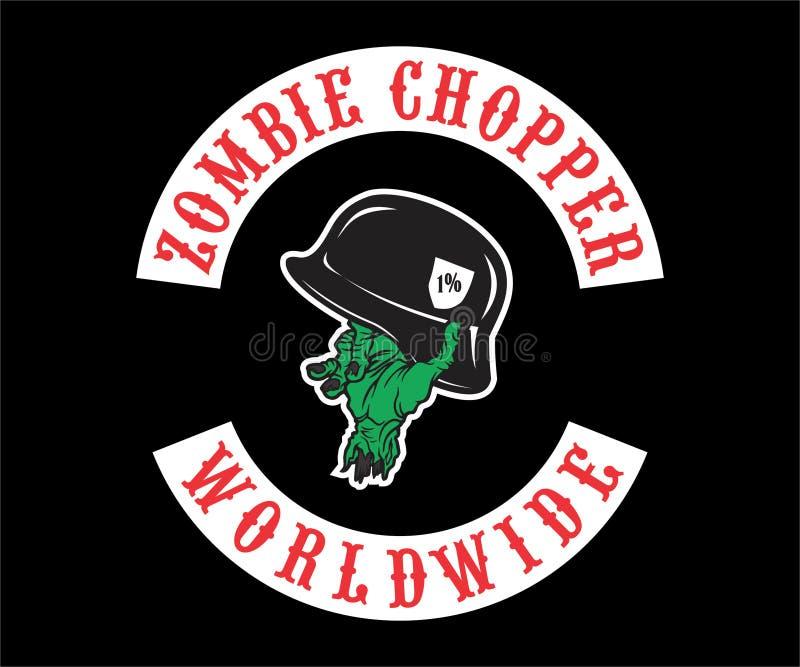 Motorcycle, Wolves Logo, emblem, symbol, sticker stock photos