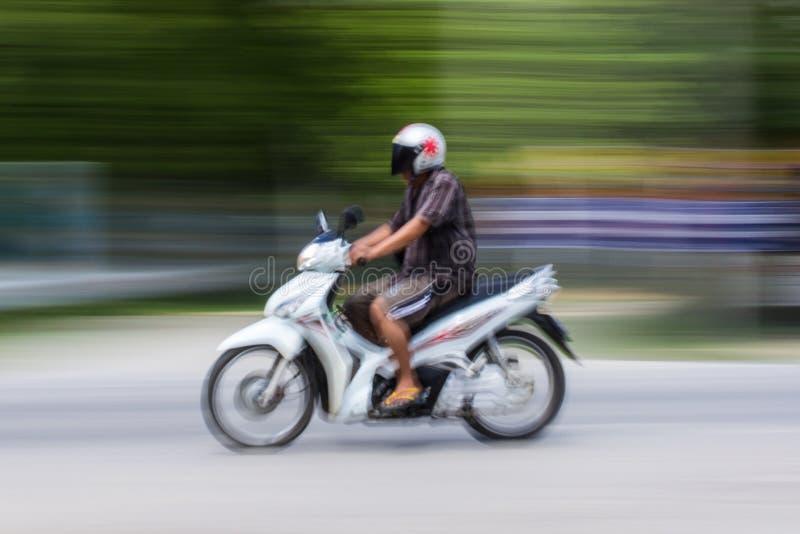 Motorcycling βράση στην Ταϊλάνδη στοκ εικόνα