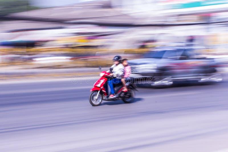 Motorcycling βράση στην Ταϊλάνδη στοκ φωτογραφία με δικαίωμα ελεύθερης χρήσης