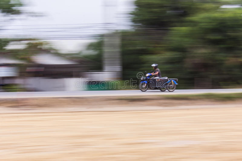 Motorcycling βράση στην Ταϊλάνδη στοκ εικόνες