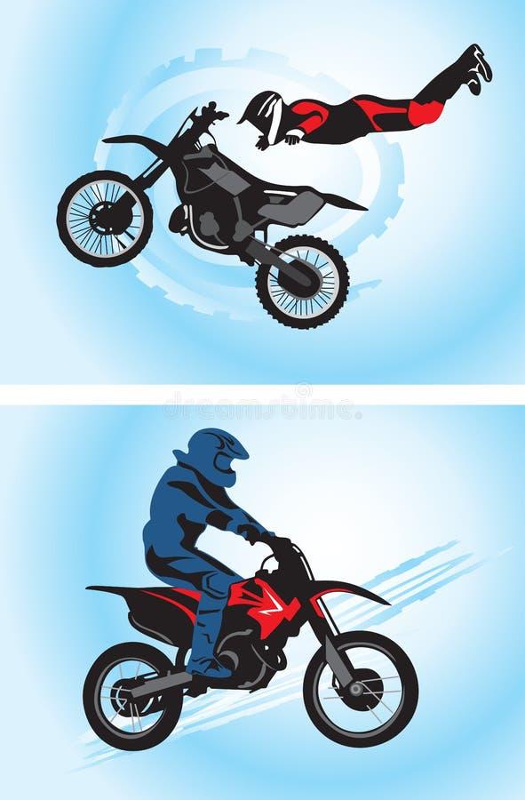 Download Motorcyclist stock vector. Illustration of motorcross - 13009046