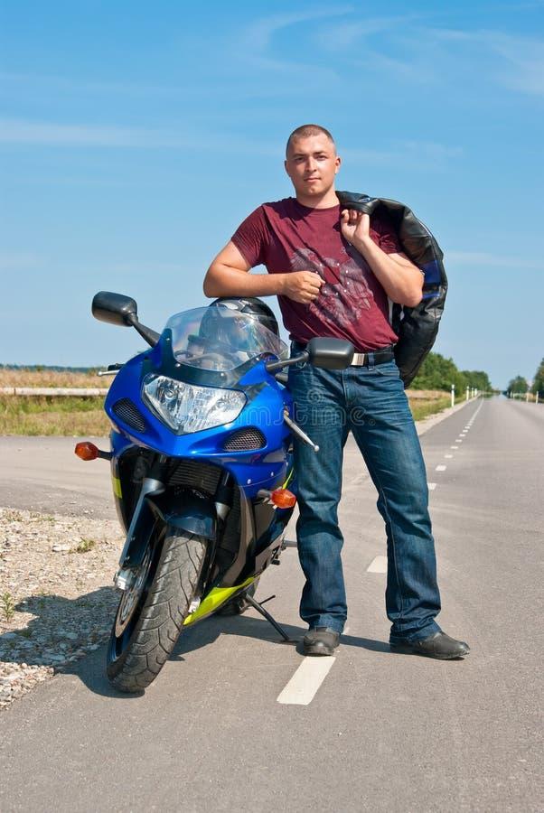motorcyclist стоковые фото