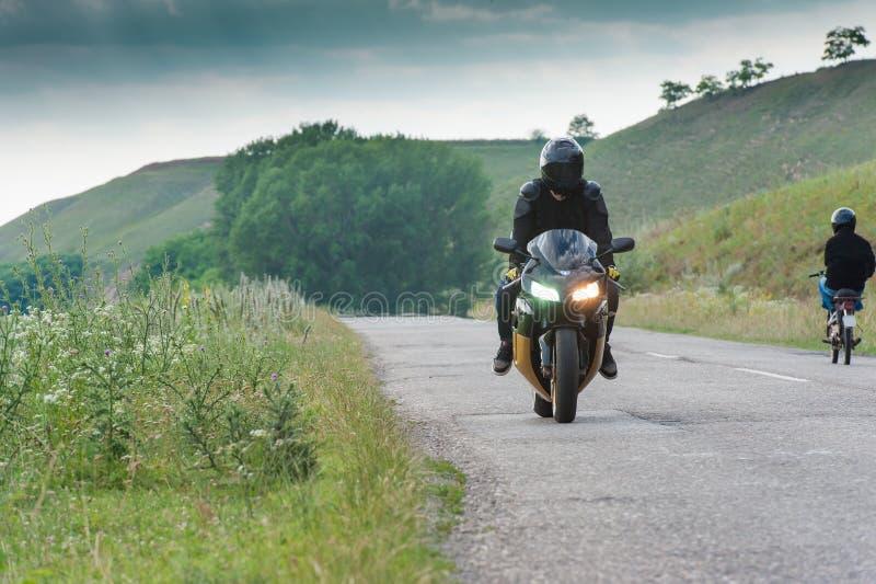 motorcyclists fotografia de stock