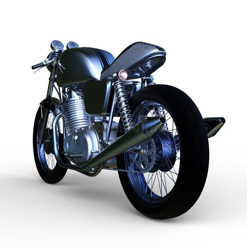 motorcykel royaltyfri illustrationer