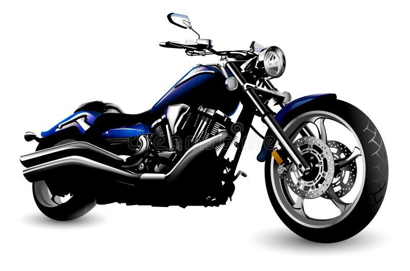 motorcykel stock illustrationer