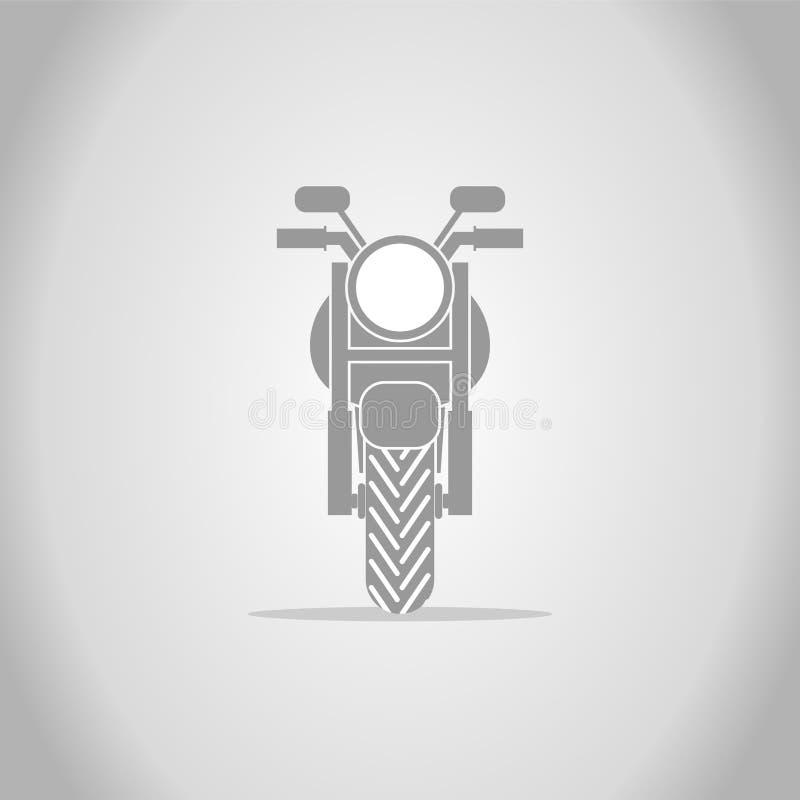 Motorcykeldesign vektor illustrationer