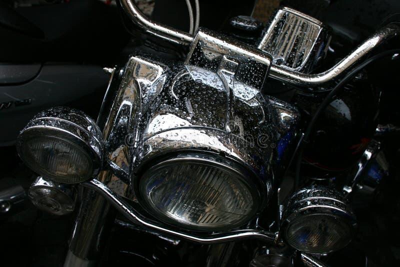 Motorcykeldetalj arkivfoto