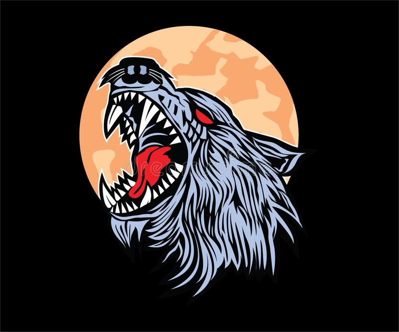 Motorcykelklubbalogo, emblem, symbol, klistermärke royaltyfri bild