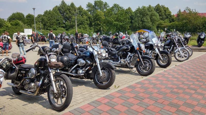 Motorcykelmotorcykel arkivfoton