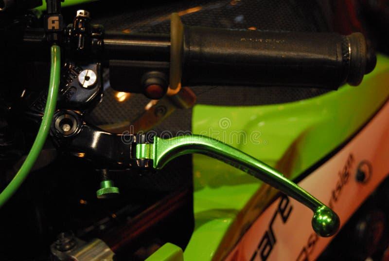 Motorcykeln bor royaltyfria bilder