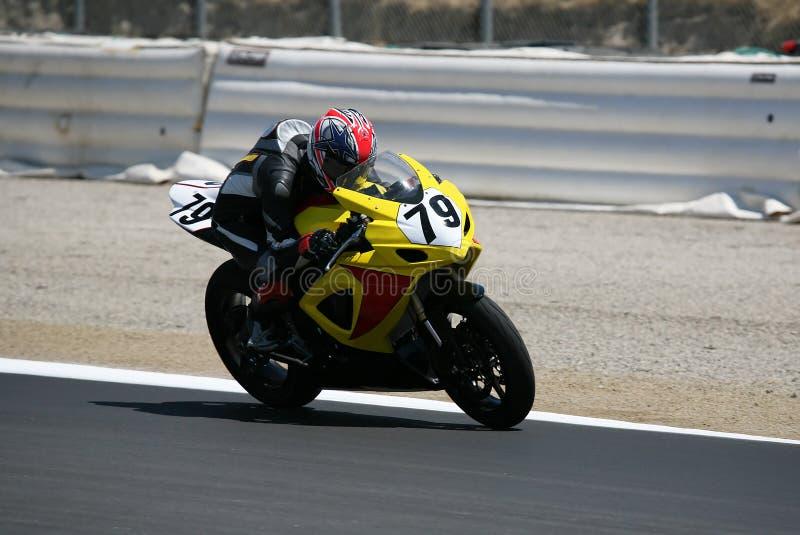 motorcykelrace royaltyfri foto