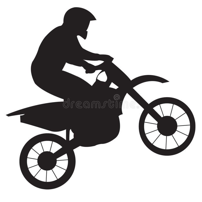 motorcykelracer vektor illustrationer