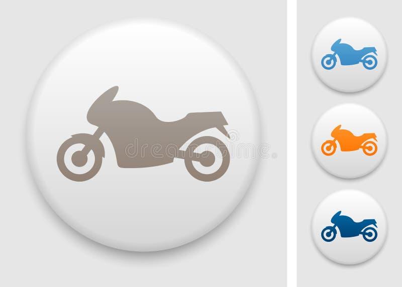 Motorcykelsymbol royaltyfri illustrationer