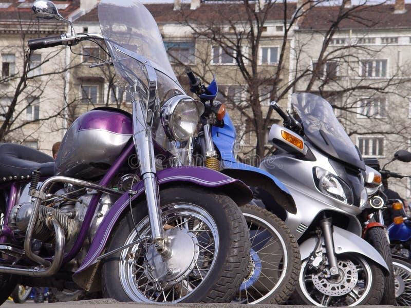 motorcyklar royaltyfria foton