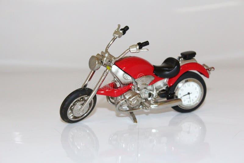 Motorcyleklok stock afbeelding