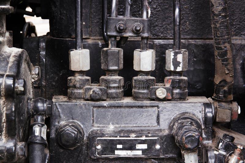 Motordetails stockfotos