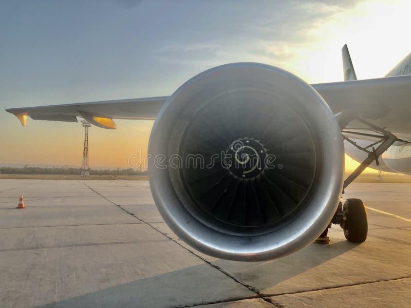 Motore aereo immagine stock libera da diritti