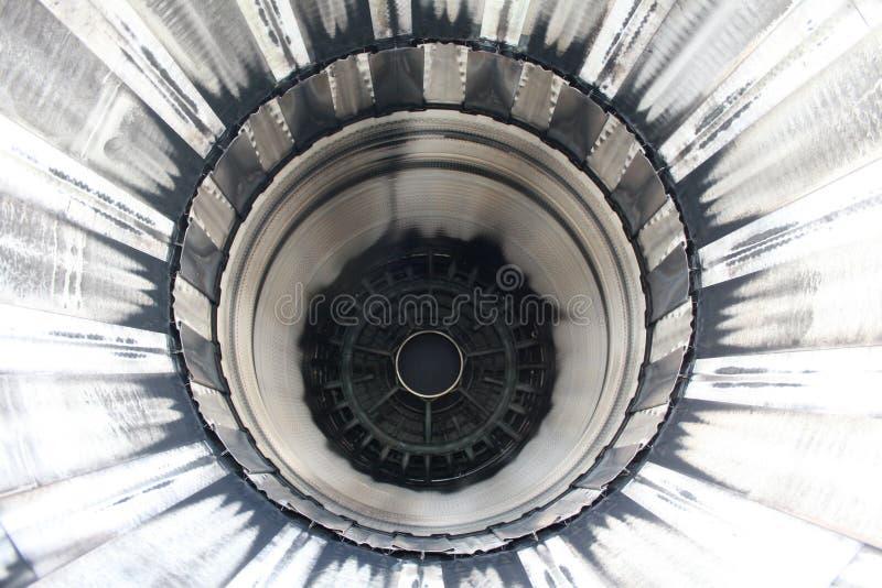 motore all'interno del jet immagine stock libera da diritti