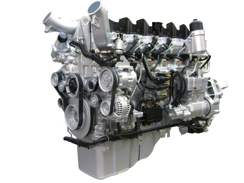Motore del camion immagine stock libera da diritti