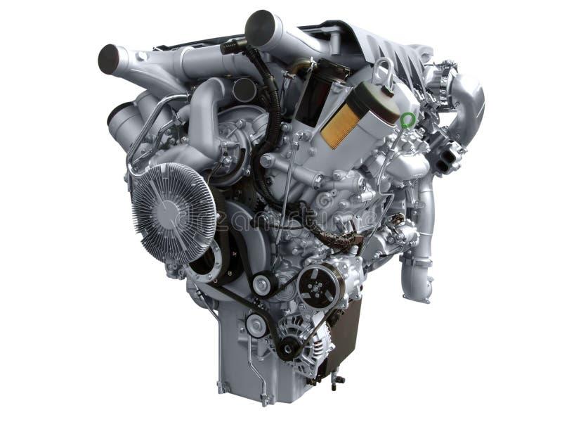 Motore del camion immagini stock