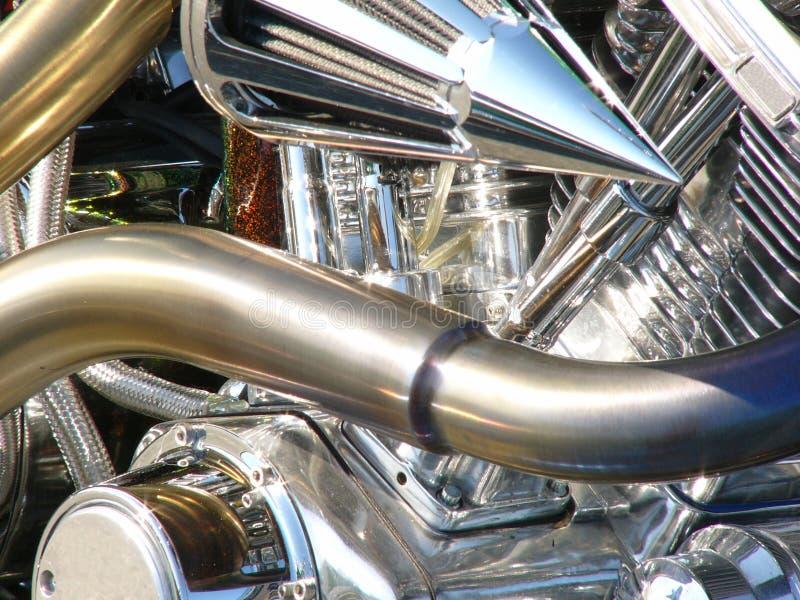 Download Motore del motociclo immagine stock. Immagine di braccio - 209495