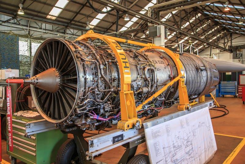 Aereo Da Caccia Falco : Motore dell aereo da caccia immagine editoriale