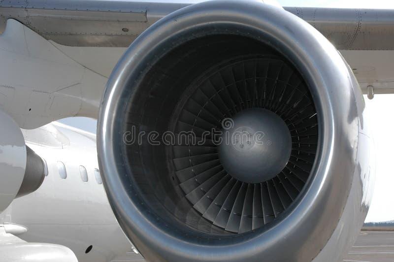 Motore dell'aeroplano fotografia stock