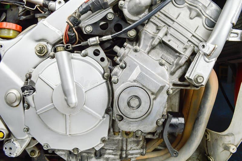 Motore della motocicletta immagine stock