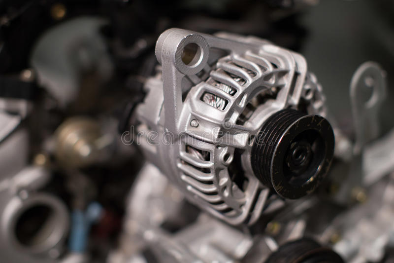 Motore di automobile fotografia stock libera da diritti