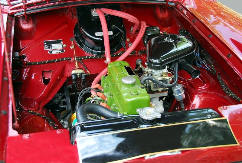 Motore di automobile classico immagine stock libera da diritti