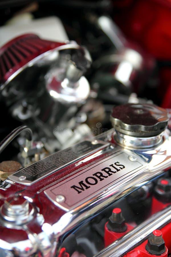 Motore di automobile di Morris immagini stock