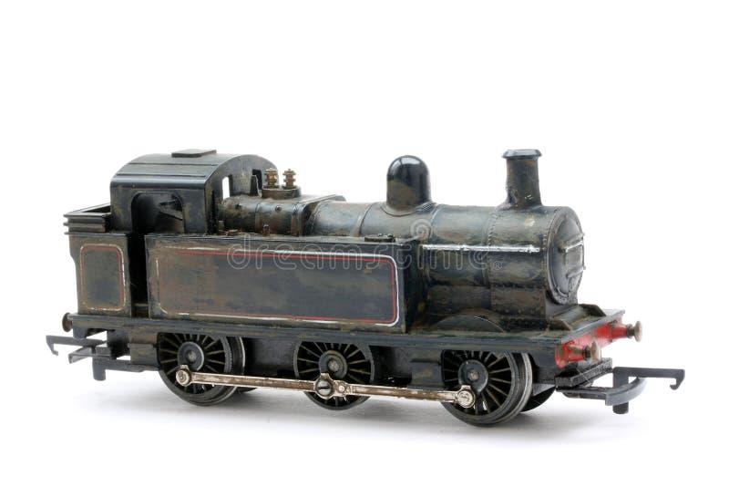 Motore di modello del deviatore del vapore del giocattolo fotografia stock libera da diritti