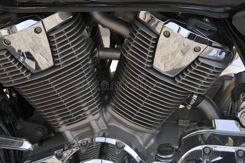 Motore Di Motobike Fotografia Stock