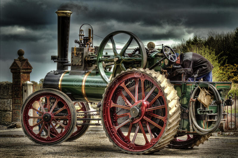 Motore di trazione fotografie stock libere da diritti