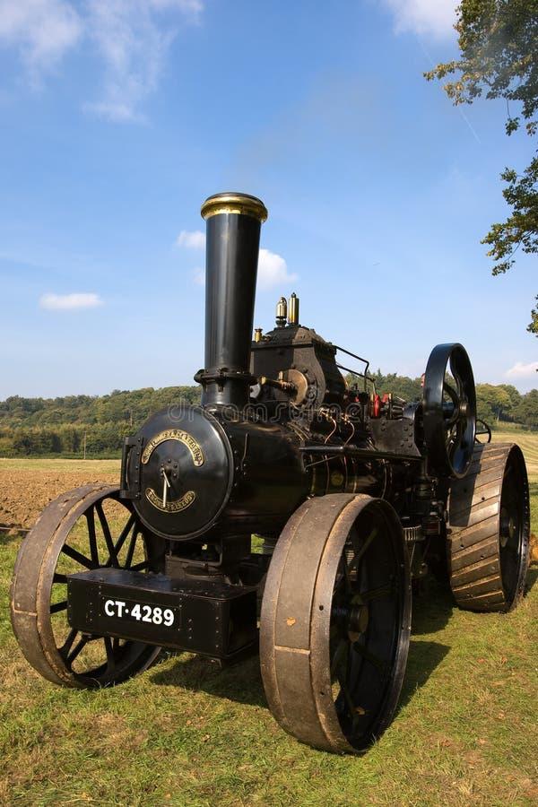 Motore di trazione del vapore fotografie stock libere da diritti