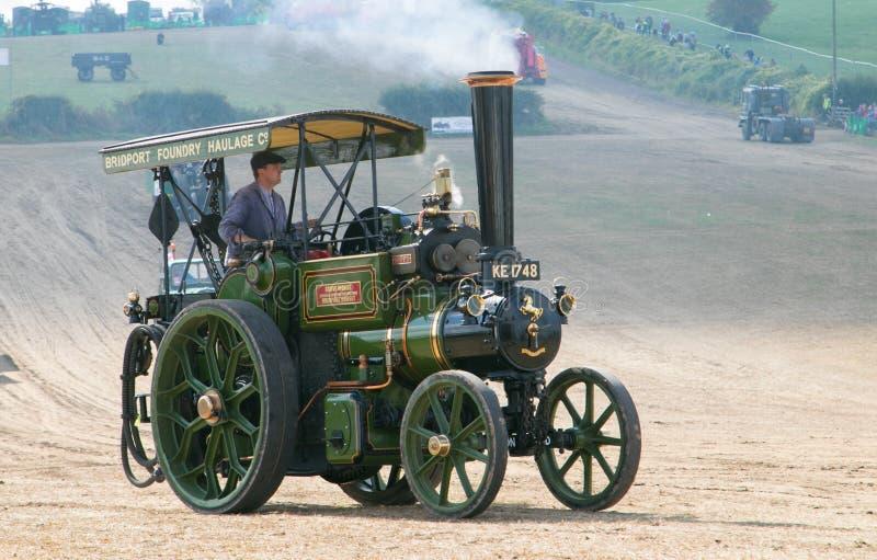 Motore di trazione a vapore fotografia stock libera da diritti
