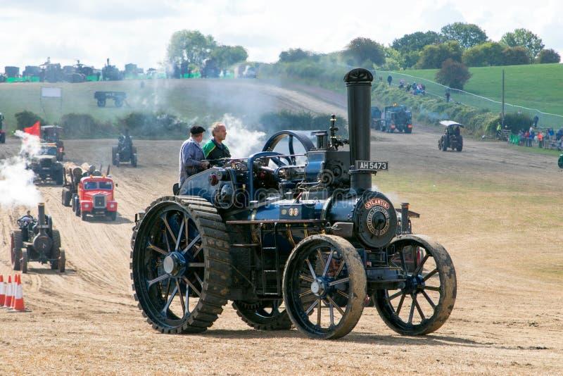 Motore di trazione a vapore fotografia stock