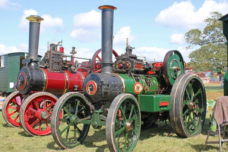 Motore di trazione a vapore fotografie stock