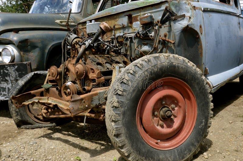 Motore di vecchia raccolta fotografie stock libere da diritti