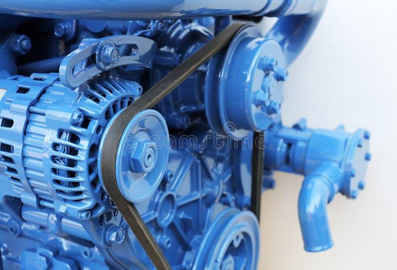 Motore diesel immagini stock