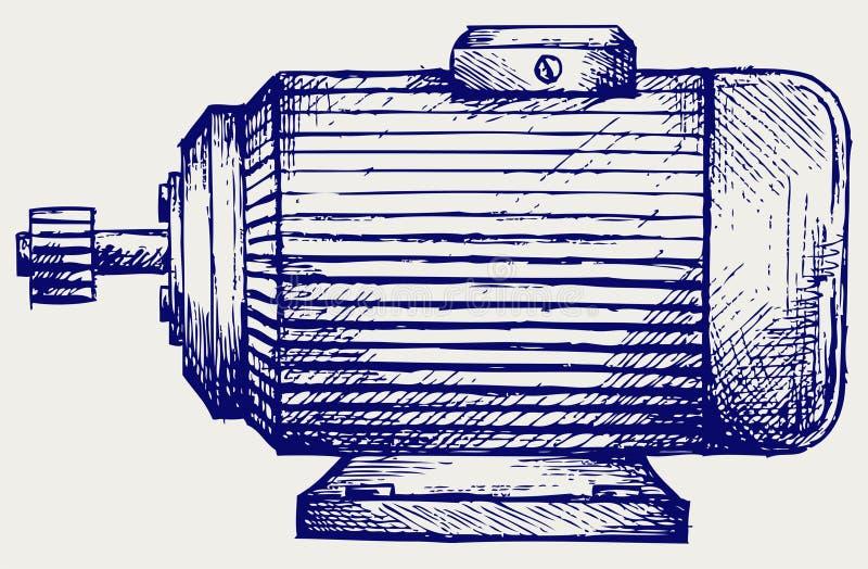 Motore elettrico illustrazione vettoriale