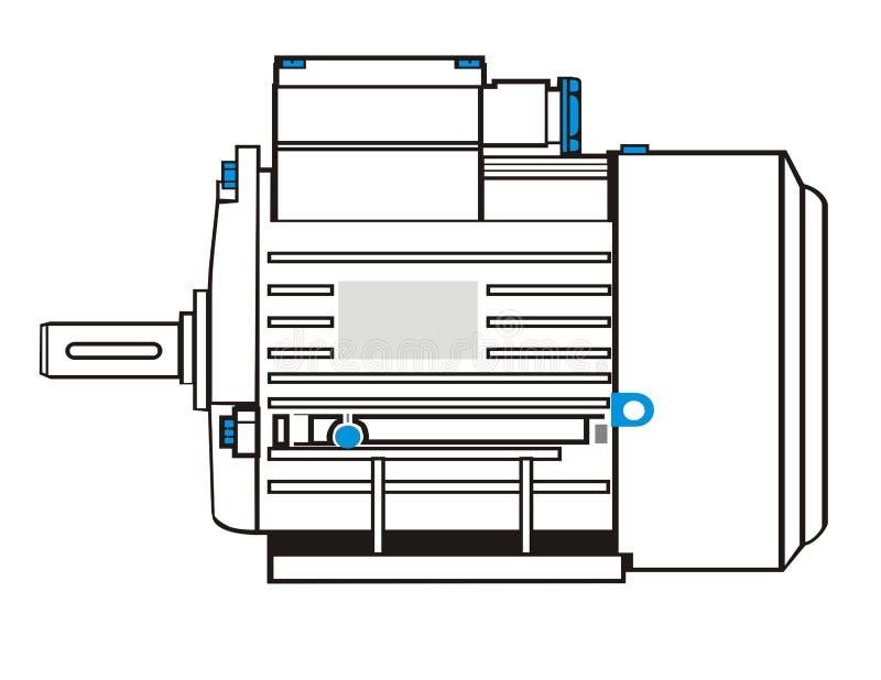 Motore elettrico royalty illustrazione gratis