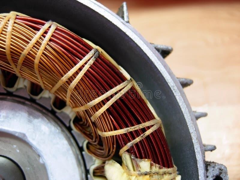 Motore elettrico, all'interno immagine stock libera da diritti
