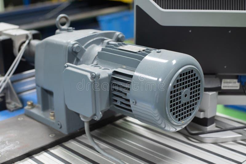 Motore elettrico di potere fotografia stock libera da diritti